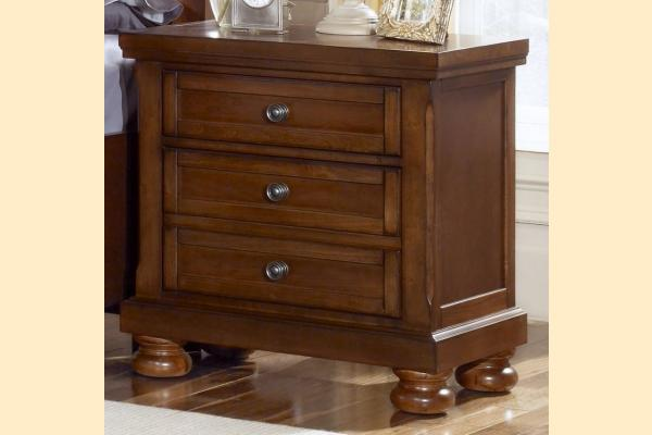 Vaughan Bassett Reflections-Medium Cherry Nightstand