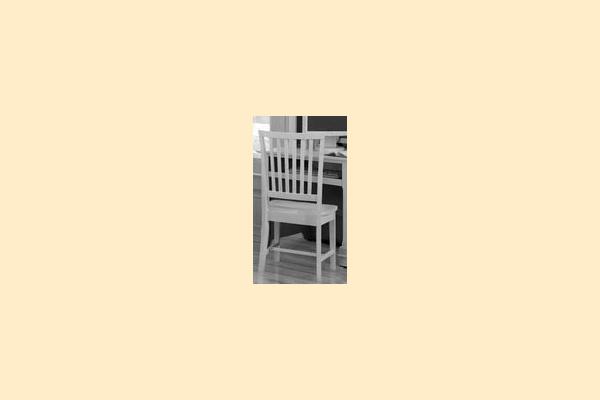 Vaughan Bassett Cottage-Black Wooden Desk Chair