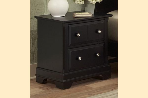 Vaughan Bassett Cottage-Black Night Stand