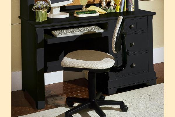 Vaughan Bassett Cottage-Black Computer Desk