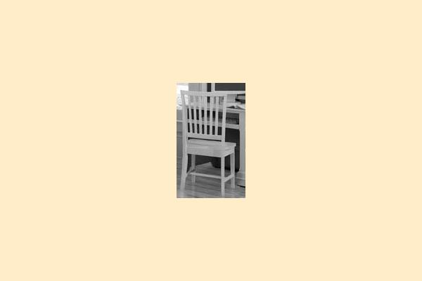 Vaughan Bassett Cottage-Snow White Wooden Desk Chair