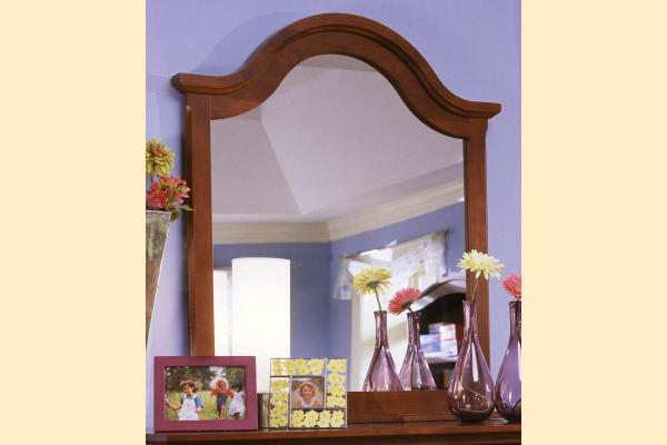 Vaughan Bassett Cottage-Cherry Vertical Mirror for Double Dresser