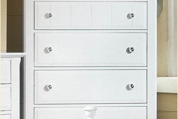 Vaughan Bassett Cottage-Snow White Chest - 5 Drawers