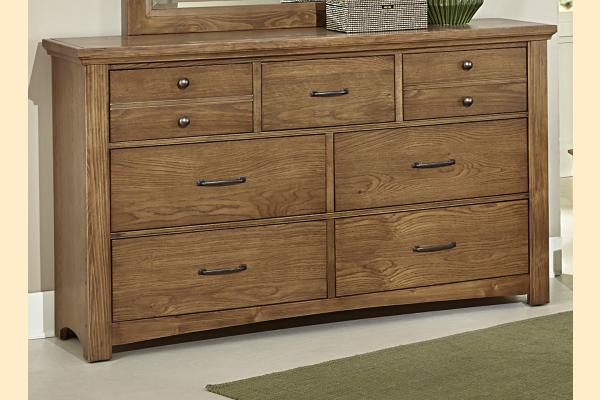 Vaughan Bassett Transitions-Dark Oak Dresser