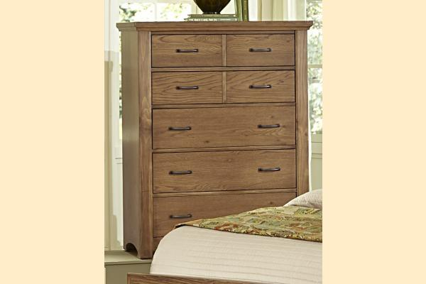 Vaughan Bassett Transitions-Dark Oak Chest