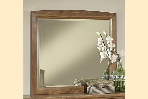 Vaughan Bassett Transitions-Dark Oak Landscape Mirror