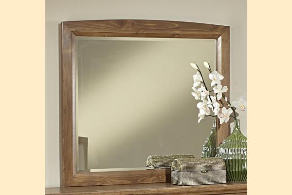 Vaughan Bassett Transitions-Dark Oak Landscape Mirror