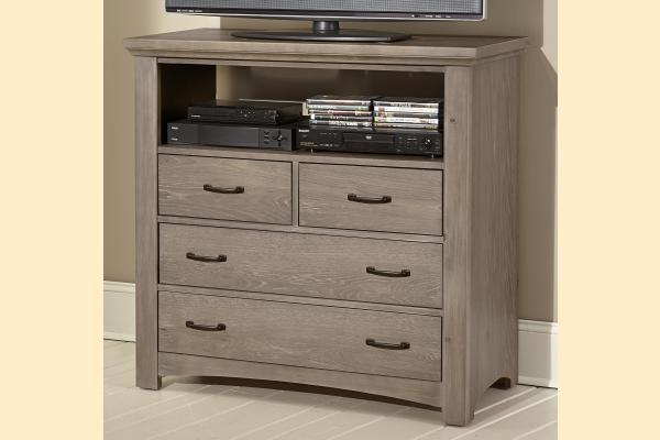 Virginia House Transformations-Driftwood Oak Media Chest