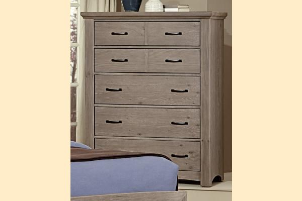 Vaughan Bassett Transitions-Driftwood Oak Chest