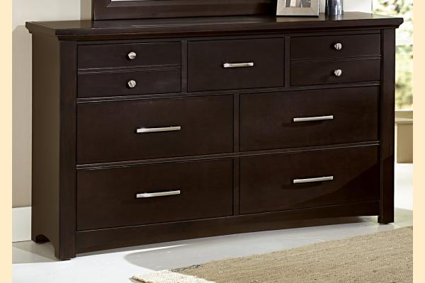 Vaughan Bassett Transitions-Merlot Dresser