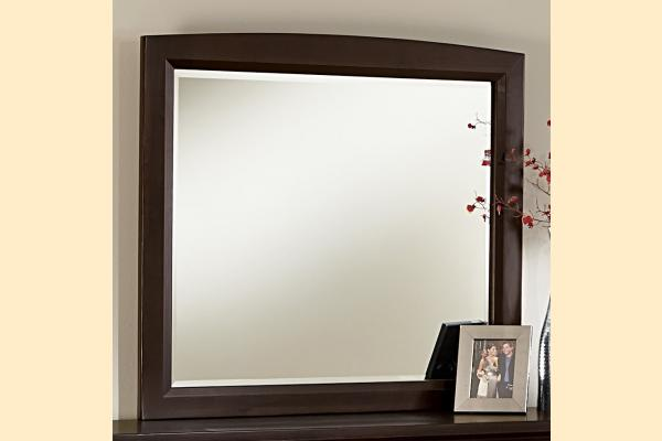 Vaughan Bassett Transitions-Merlot Landscape Mirror