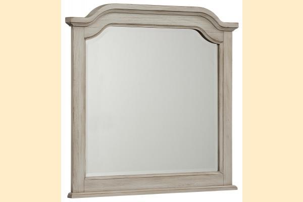 Vaughan Bassett Arrendelle-Rustic White Arch Mirror