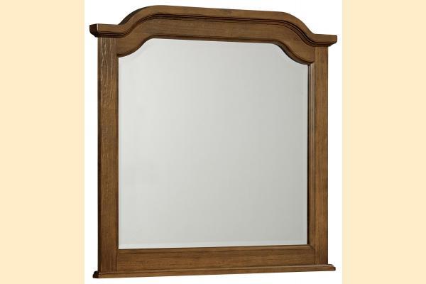 Vaughan Bassett Arrendelle-Antique Cherry Arch Mirror