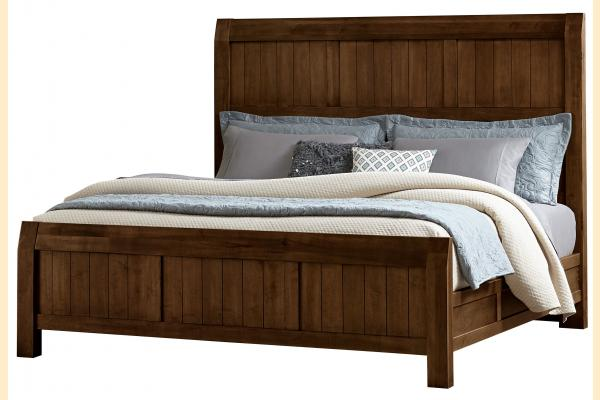 Virginia House Rustic Lodge-Cherry King Timber Bed