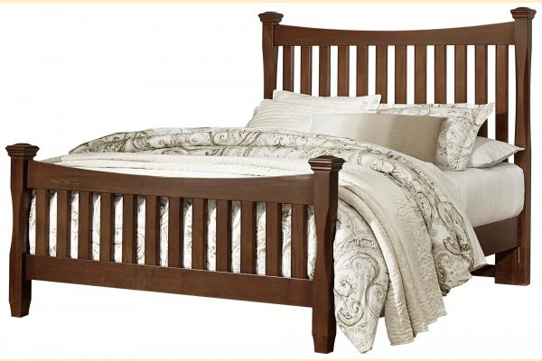 Virginia House Shire- Cherry King Poster Bed