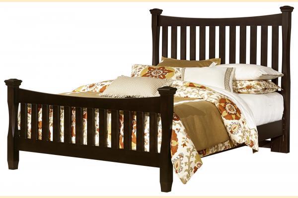 Virginia House Shire- Merlot Queen Poster Bed