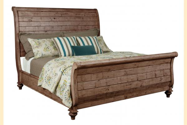 Kincaid Weatherford-Heather Queen Lynton Sleigh Bed