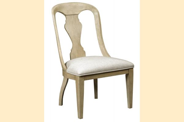 American Drew Litchfield Whitby Upholstered Side Chair-Driftwood